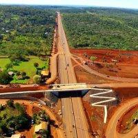 El histórico cruce Santa Ana ahora es un paso elevado y avanza la construcción de la autopista