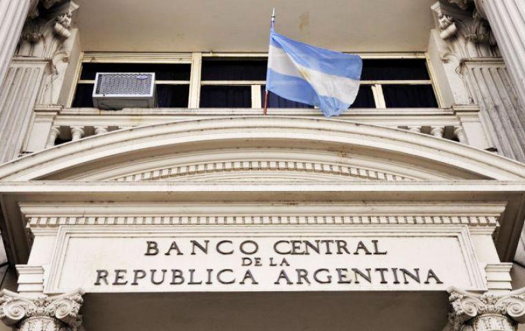 Al Central solo le quedarían USD 4.500 millones de reservas para venta dedólares