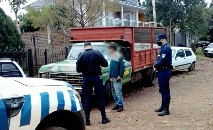 Detuvieron a un hombre involucrado en robo deyerba