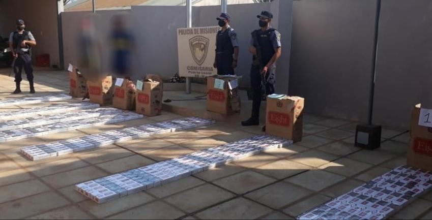 Hallaron 345 gruesas de cigarrillos ilegales en elmonte