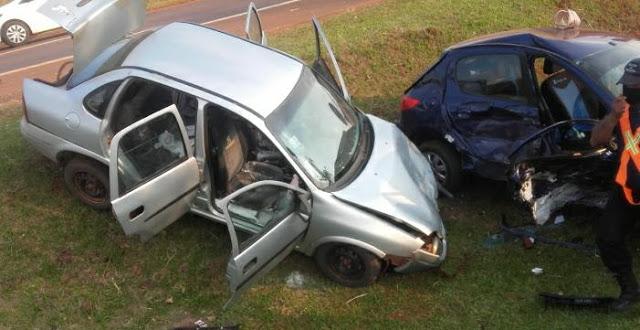 Choque en la ruta 14 dejó a una mujer inconsciente y con lesionesgraves