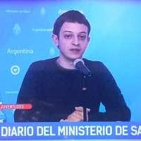 """""""Les pibis... es clave que nosotres les jóvenes también nos cuidemos"""", dijo el joven funcionario nacional"""