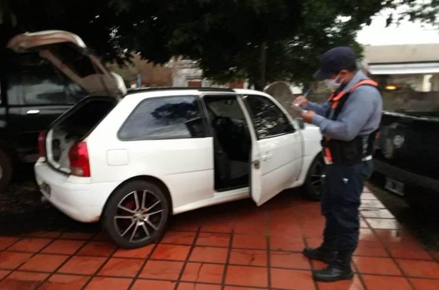 Secuestraron un vehículo con documentos apócrifos en un controlvial