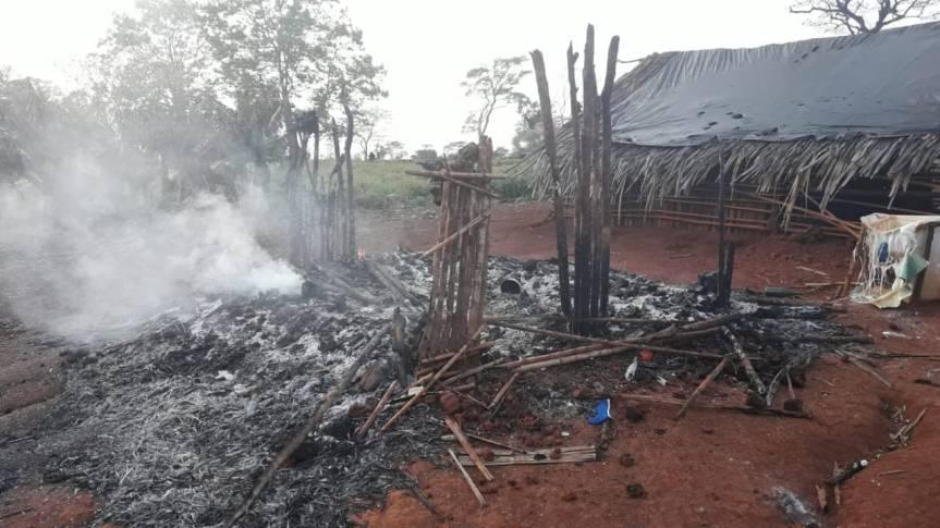 Se incendió una casa y falleció unajoven