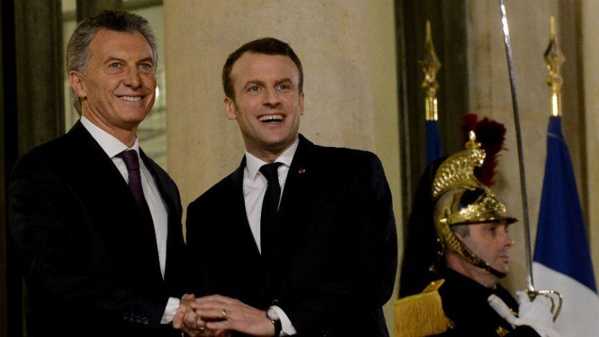 """Argentinos marcharán en París para repudiar a Macri pidiendo que sea declarado """"persona nograta"""""""
