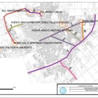 Presentaron proyectos de nodos viales, la Travesía Ruta 5, la avenida de circunvalación, puentes, cloacas, agua potable y desagües pluviales