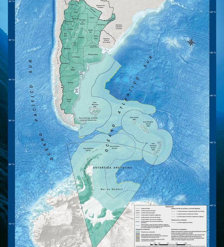 La ONU aprobó el nuevo mapa de Argentina incorporando a laAntártida