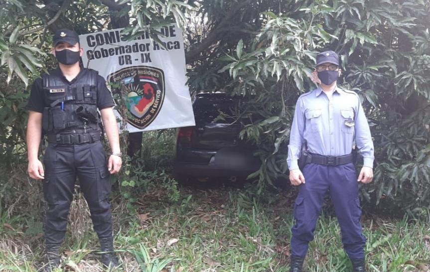 Recuperaron en Gobernador Roca un automóvil que fue robado en SanVicente