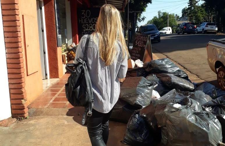 La Defensoría del Pueblo constató que no hay recolección de basura a causa delparo