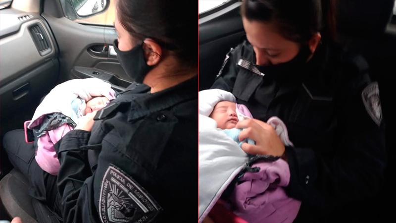 Detuvieron a la madre de la beba apuñalada y encerrada en unabolsa