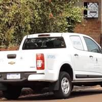 """Denuncian uso indebido de la camioneta del ANSES Posadas en Oberá el domingo: """"se bajó un muchacho de bermudas, andaba con una mujer"""""""