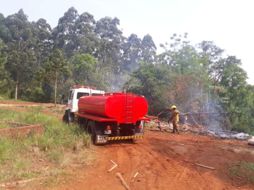 Dos principios de incendio fueron sofocados enPanambí