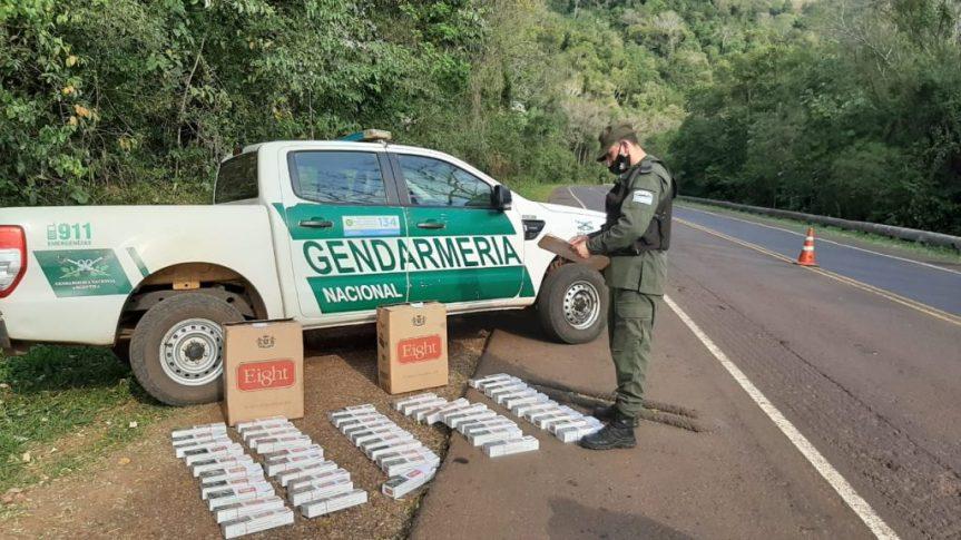Gendarmería secuestró 17.720 paquetes de cigarrillos por $2.539.265 y 3.487 Kg de marihuana por $463.771
