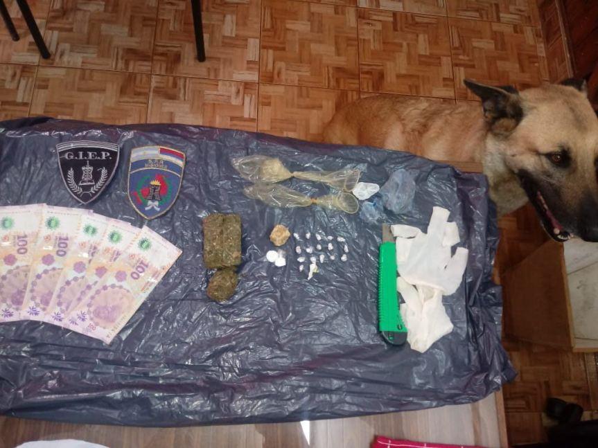 Intentaron ingresar cocaína y marihuana para un preso en lacárcel