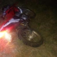 Falleció un hombre tras despistar en su moto