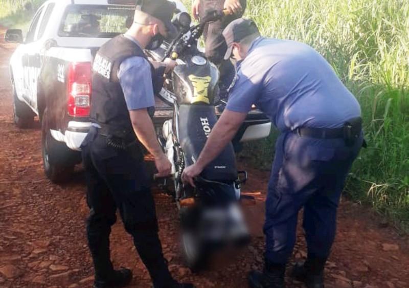 Hallaron una moto a pocas horas de ser robada enSchuster