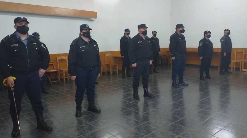 Asumieron nuevos jefes en la Unidad Regional II deOberá