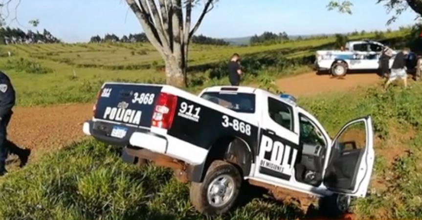 Una patrulla despistó durante unapersecución