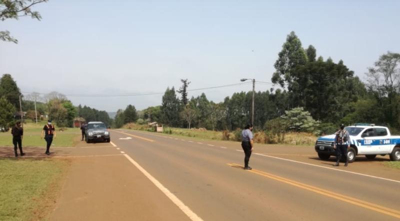 Joven fue hallado sin vida sobre ruta Nacional14