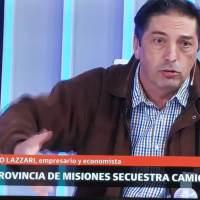 """Rentas: """"Misiones secuestra camiones, hasta que no vas con el cash al puestito de la policía, no te liberan"""""""