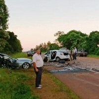 Choque múltiple en la ruta 14: Identificaron al tercer fallecido