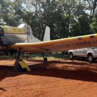 Yabotí: El avión hidrante hizo un vuelo y se rompió