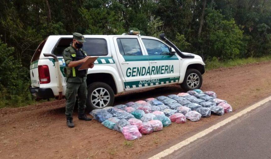 Gendarmería incautó contrabando y drogas por más de 20 millones depesos