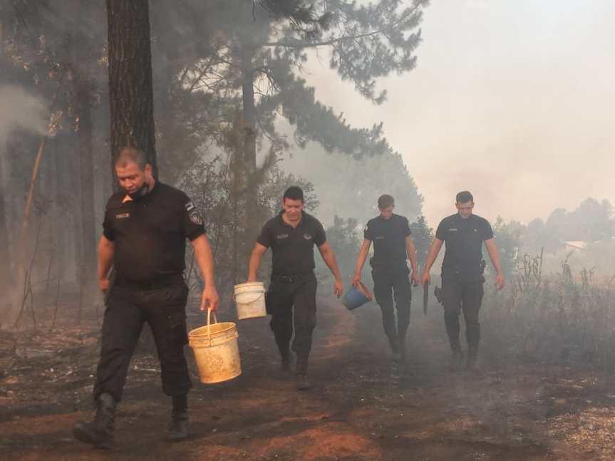 La Renovación creó la secretaría de Cambio Climático pero no destina presupuesto contra losincendios