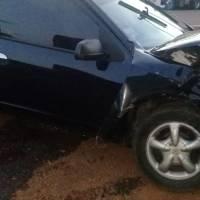 Automovilista ebrio chocó contra un camión en avenida Pincen y terminó detenido