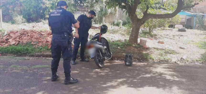 Arrestaron a motochorros y recuperaron un teléfonorobado
