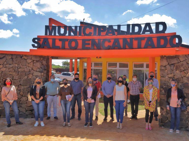 Herrera Ahuad inauguró la municipalidad nº 77 de laprovincia