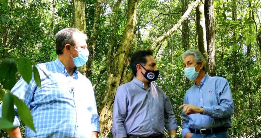 """""""El Chachi"""": Planifican acciones para proteger las 18 hectáreas de montenativo"""