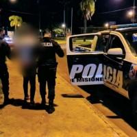 Estaban sin barbijos en calle Mar del Plata, intentaron huir y fueron arrestados