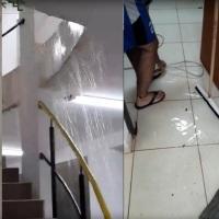 Albergue de la UNAM inaugurado por Passalacqua: Costó 18 millones y se inunda