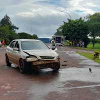 Choque en la ruta 103 dejó tres heridos