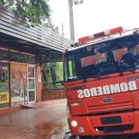Incendio ocasionó daños en un local sobre José Ingenieros