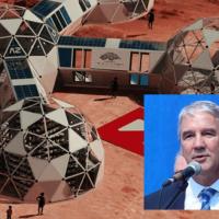 """Sedoff anunció un proyecto para simular la vida en Marte: """"En lugar de asegurar que las escuelas de Misiones tengan tanques de agua, electricidad, wifi..."""""""