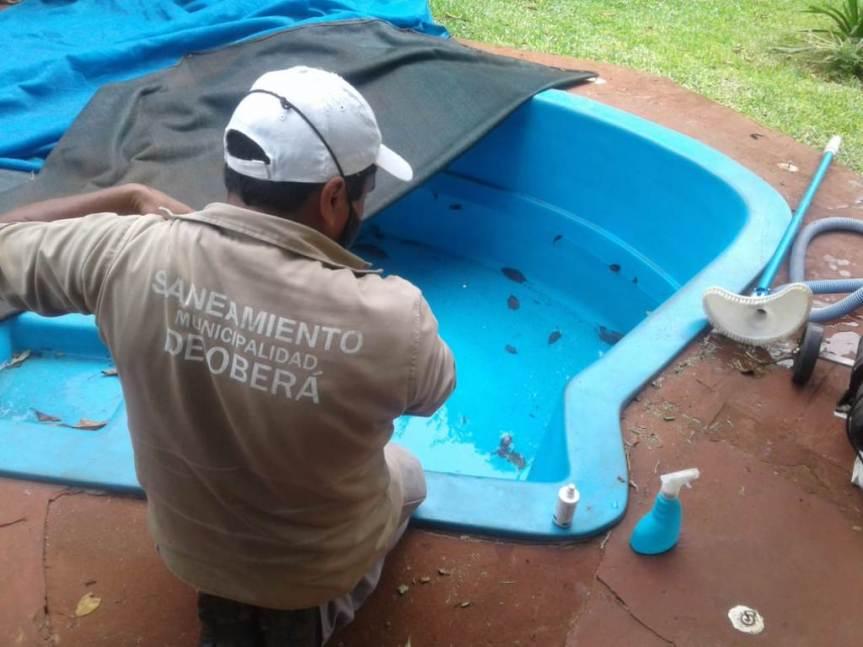 Realizan tareas de prevención de Dengue y monitoreo deOvitrampas