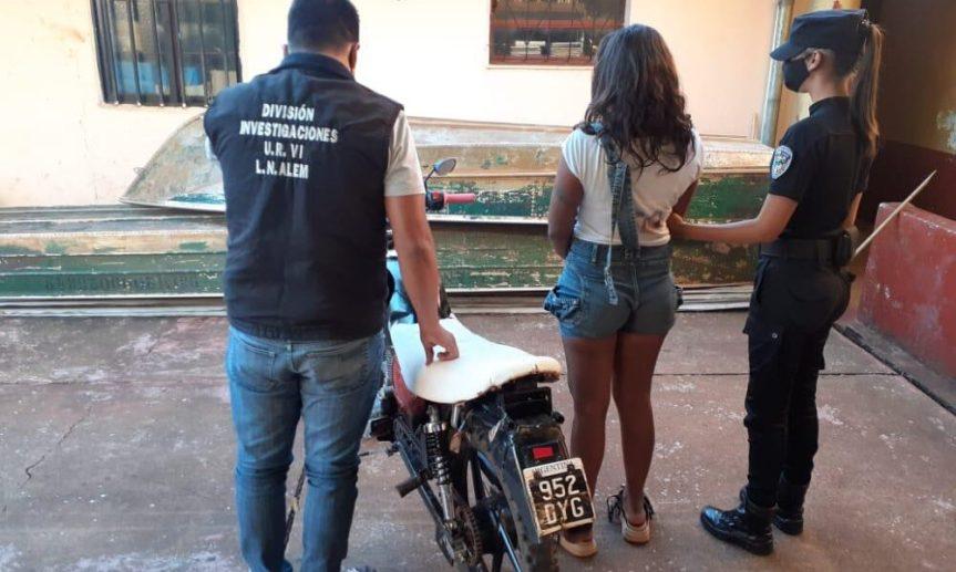Recuperaron en Alem una moto robada enOberá