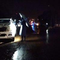 Detuvieron a un conductor alcoholizado que chocó a un motociclista en la ruta 14