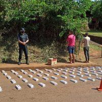 Contrabandistas chocaron a una mujer en su intento por escapara con 1.500 atados de cigarrillos