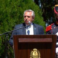 """Fernández habló de Macri y se comparó con San Martín: """"Aquellos hombres de 1800 no tenían que luchar contra la prédica mal intencionada"""""""