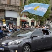 El auto que trasladó a Alberto Fernández adeuda más de $ 600.000 en infracciones de tránsito
