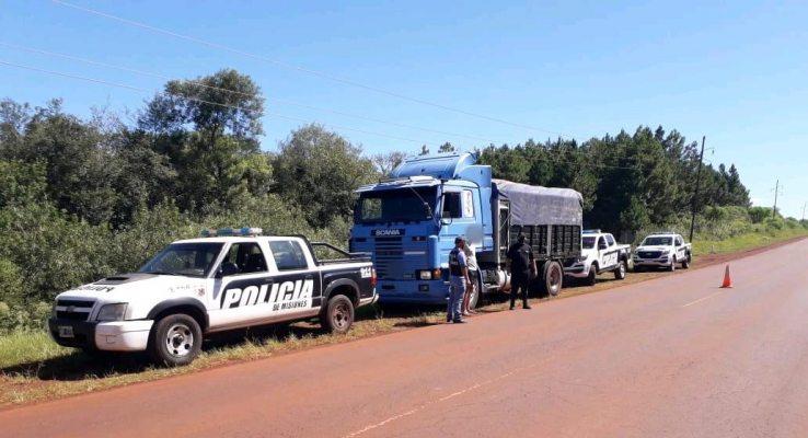 """Cayeron dos policías misioneros y un gendarme acusados de """"facilitar"""" con coimas el contrabando desoja"""