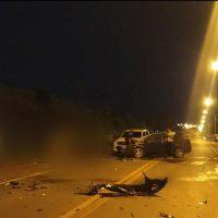 Cuatro vehículos chocaron en la Ruta Nacional 14