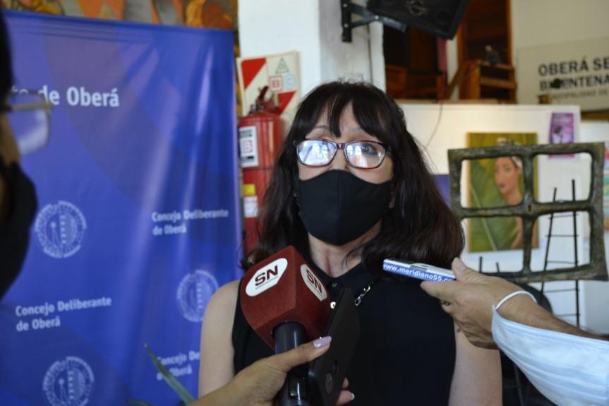 """La concejal Frontini pidió que Alberto Fernández se disculpe por """"insultar al personal desalud"""""""