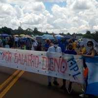 Docentes exigen la renuncia de Sedoff y harán un paro de 48 horas