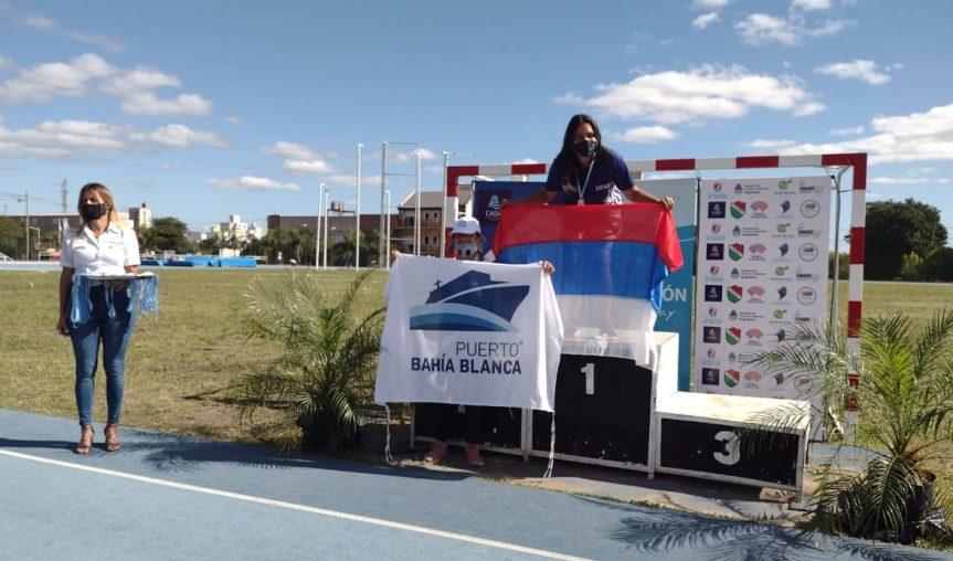 Atletismo adaptado: Mahira y Leonel campeonesnacionales