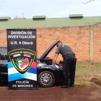 Incautaron vehículo con documentaciones adulteradas en el barrio 53 Viviendas