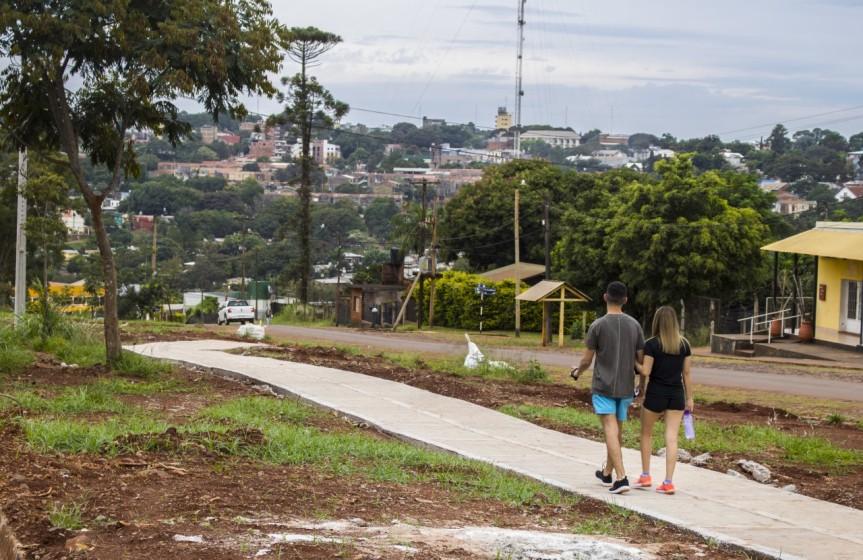 """Programa nacional """"Argentina Hace"""": ejecutan obras de bicisenda en avenida PicadaVieja"""